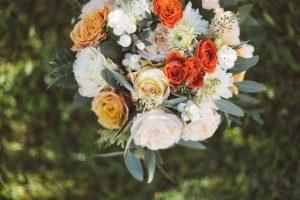 Bouquet de mariée Marjorie Mariage organisatrice de mariage à Périgueux