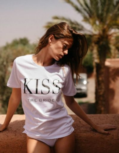 t-shirt kiss by romance à Bordeaux