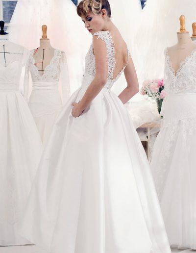 Robe de mariée des créatrices Atelier emelia 2(Anouk) à Périgueux