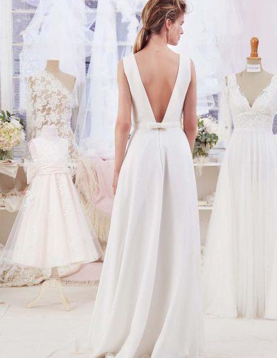 Robe de mariée des créatrices Atelier emelia (Acanthe) à Périgueux