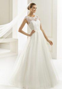 robe de mariée dentelle Bianco evento en Dordogne