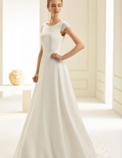 robe de mariée sobre Bianco evento à Périgueux