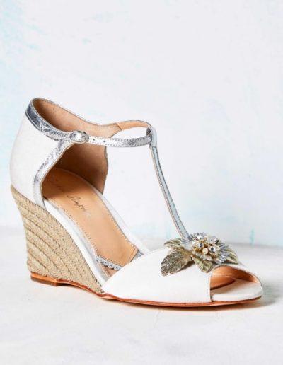 Chaussures compensées mariée Rachel Simpson à Périgueux Marjorie Mariage