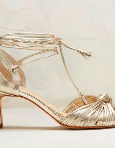 Chaussures or mariée Rachel Simpson à Périgueux Marjorie Mariage