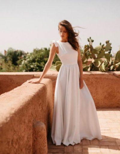 Robe de mariée champêtre bohême - By Romance à Périgueux