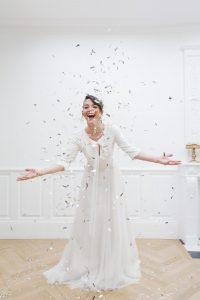 robe de mariée bohême champêtre EMMA(Mathilde) en Dordogne