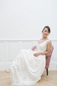 robe de mariée EMMA(Meloee) à Bordeaux Marjorie Mariage
