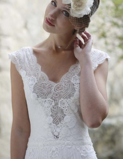 Robe de mariée Elsa Gary  (Spahir) en Dordogne