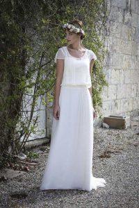 Robe de mariée Elsa Gary (Amethyste) en Dordogne