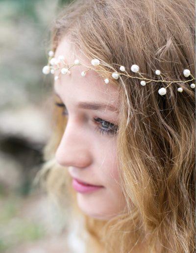 couronne de perles English garden à Périgueux