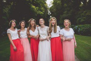 Jupe invitées mariage ou demoiselles d'honeur Les petites jupes de Prune à Périgueux