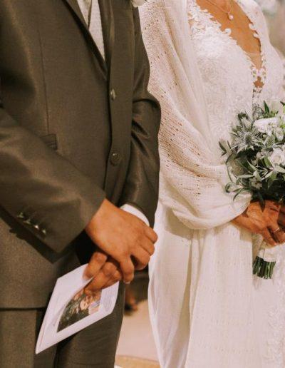étole mariage madame seguin en Dordogne