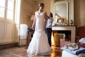 Marjorie Mariage Robe de mariée bohème à Périgueux en Aquitaine