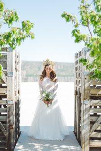 Robe de mariée bohème à Périgueux en Aquitaine
