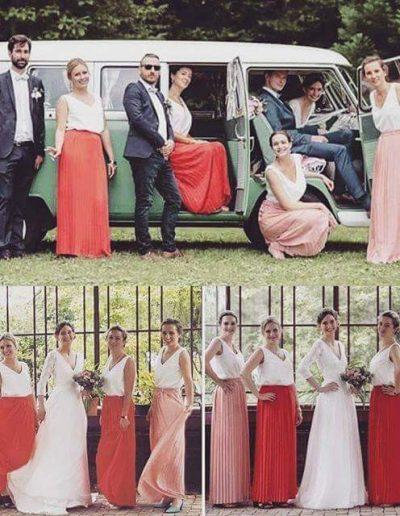 Jupe invitées mariage ou demoiselles d'honneur Les petites jupes de Prune à Périgueux