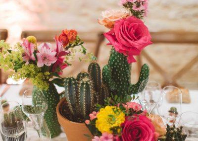 Décoration de mariage influence Mexique