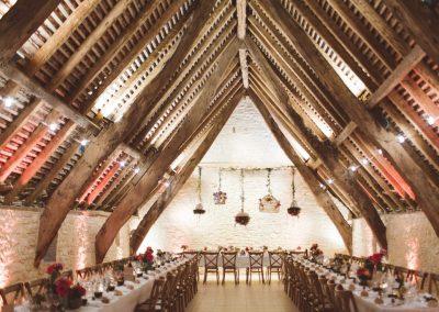 Salle décorée par Marjorie mariage