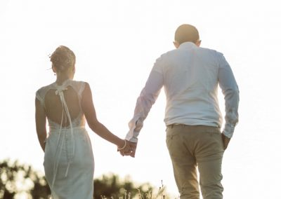 Robe dos nu dentelle marjorie mariage